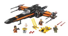 Lego Star Wars Force Awakens X-Wing Fighter