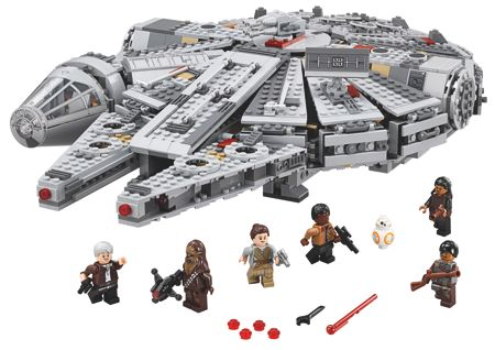 Lego Star Wars Force Awaken Millennium Falcon