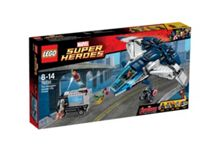 Superheroes Avengers Quinjet Chase