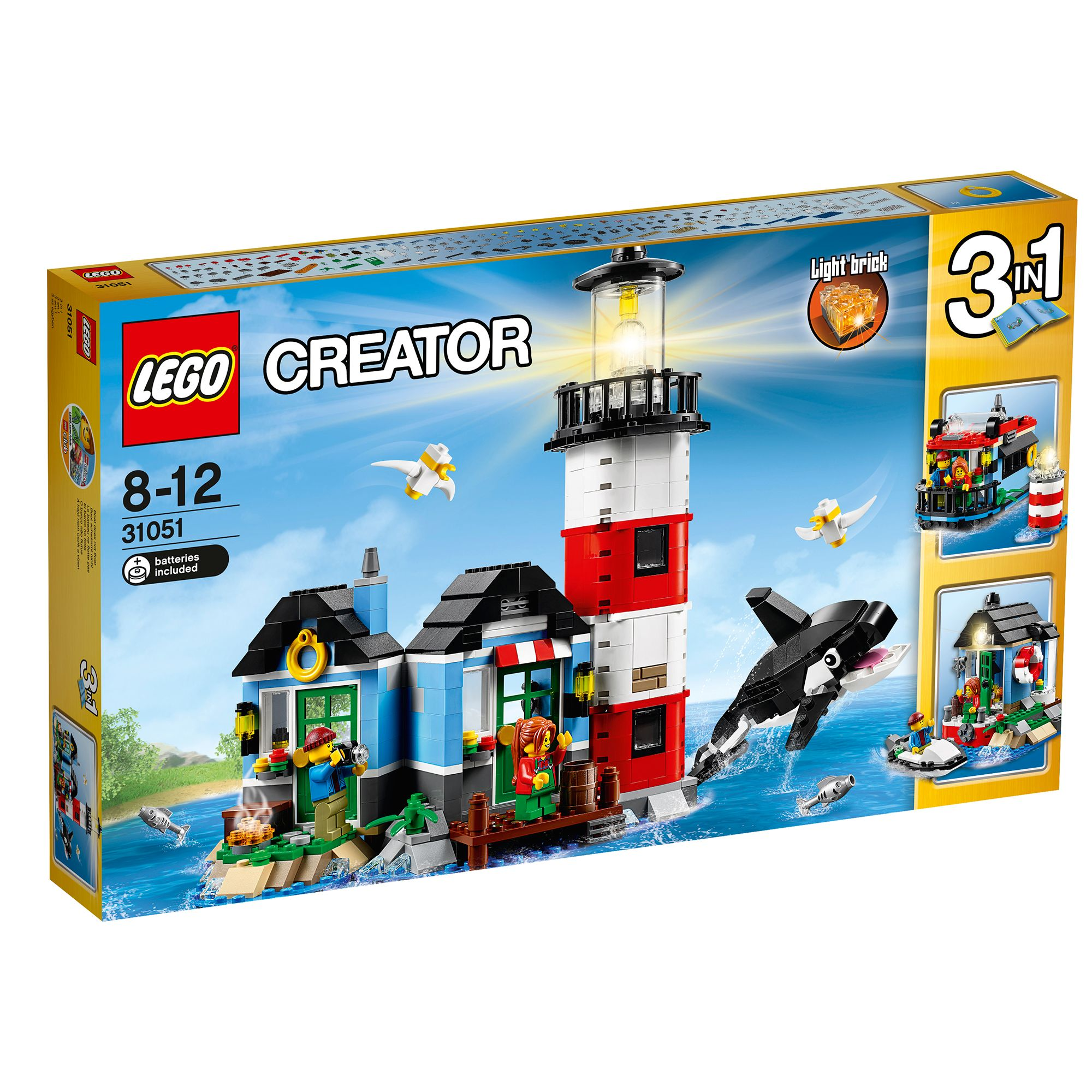 Lego Creator Lighthouse Point 31051