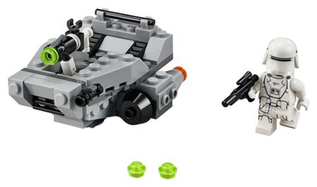 Lego Star Wars Microfighters Snowspeeder