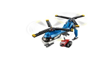 Lego Twin Spin Helicopter - 31049