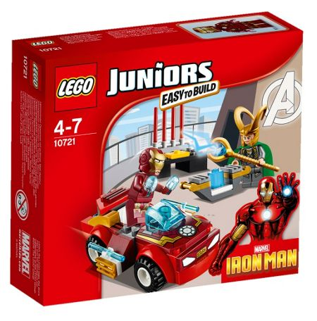 Lego Juniors Marvel Iron Man Vs. Loki - 10721