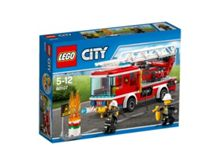 Lego City Fire Ladder Truck - 60107
