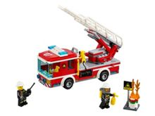 City Fire Ladder Truck - 60107