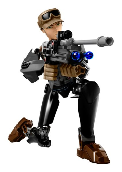 Lego Buildable Sergeant Jyn Erso