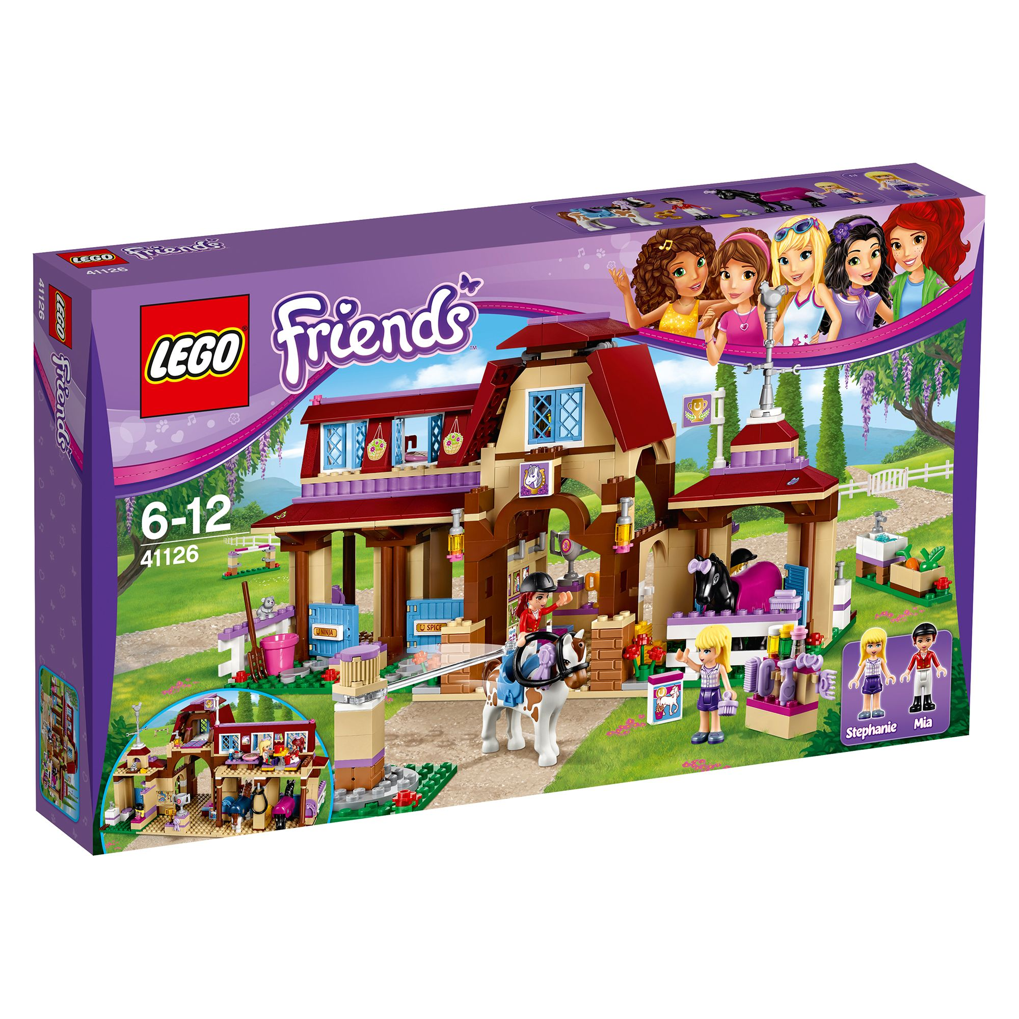 Lego Friends Heartlake Stables Shop For Cheap Toys And Save Online
