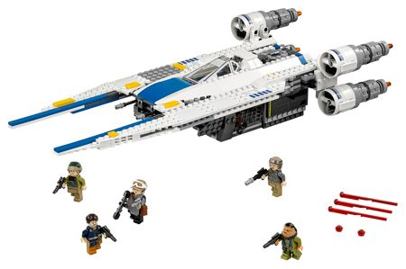 Lego Rogue One Rebel U-Wing Fighter