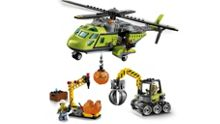 Lego Volcano Supply Helicopter - 60123