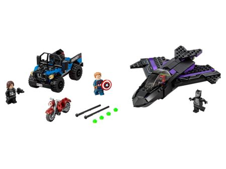 Lego Super Heroes Black Panther Pursuit