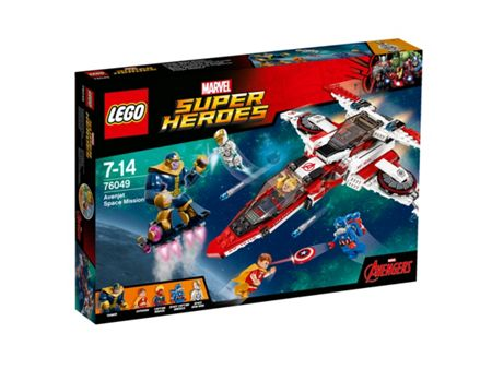 Lego Super Heroes Avenjet Space Mission