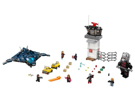 Lego Marvel Super Heroes Airport Battle