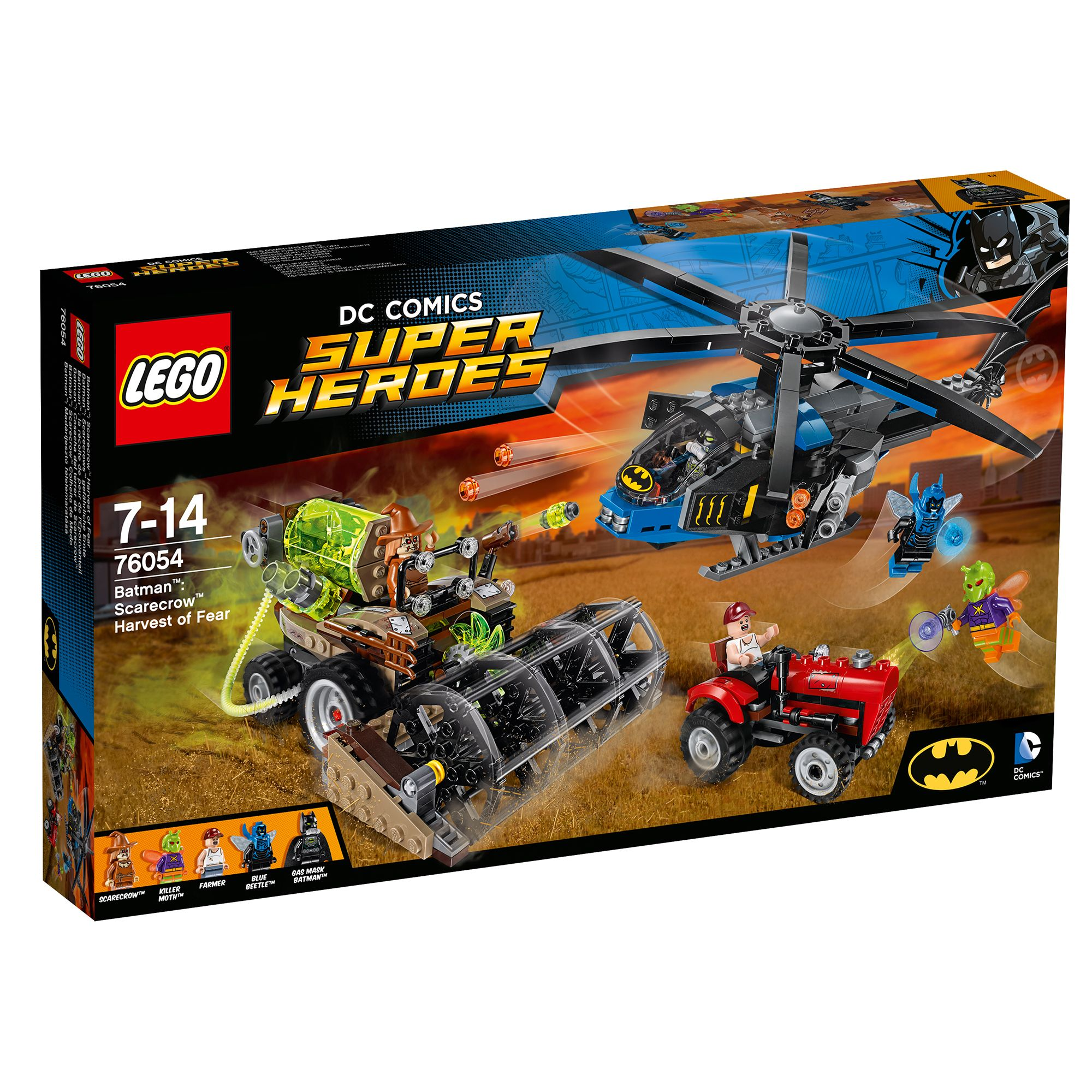 Image of Lego DC Comics Batman Scarecrow Harvest Of Fear