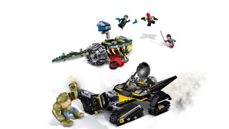 Lego Batman Killer Croc Sewer Smash - 76055