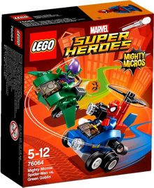 Lego Mighty Micros Spider-Man vs Green Goblin