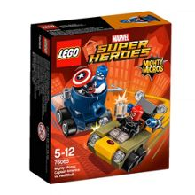 Lego Mighty Micros Captain America vs Red S