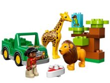 Lego Duplo Around the World Savanna Adventure