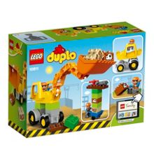Lego Backhoe Loader - 10811