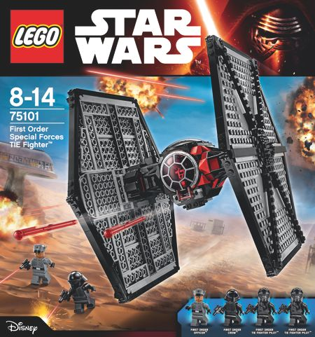 Lego The Force Awakens Tie fighter
