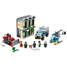 Lego City Police Bulldozer Break-in 60140