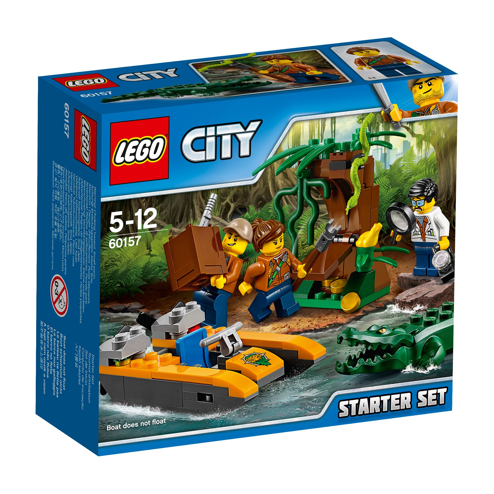 Image of Lego City Jungle Starter Set 60157