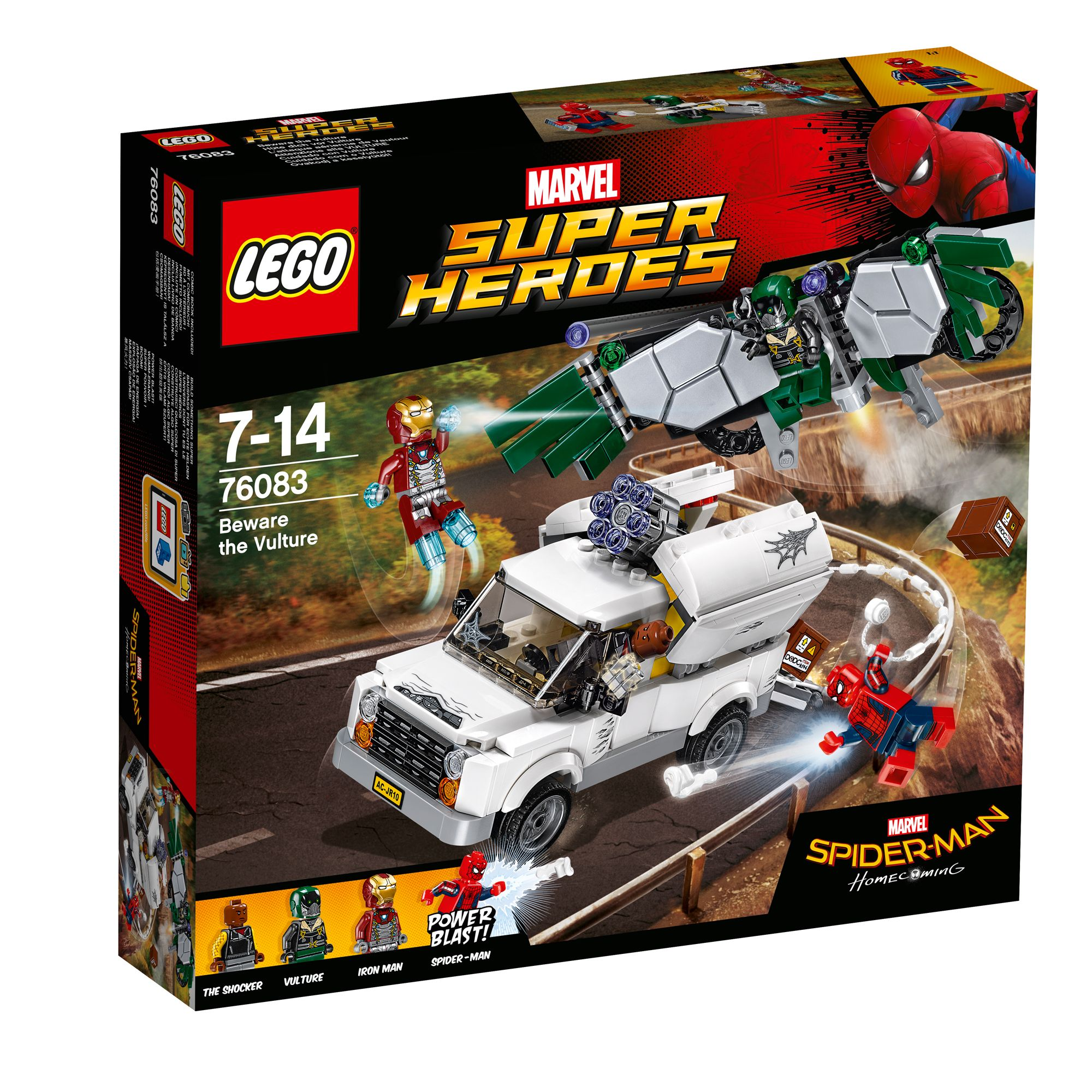 Image of Lego Marvel Super Heroes Spiderman Beware The Vulture