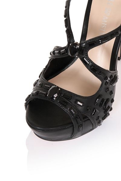 Little Mistress Embellished platforms