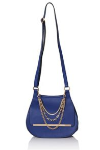 Little Mistress Tri hanging chain shoulder handbag