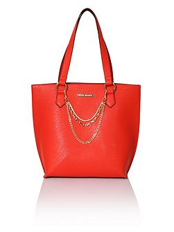 Tri hanging chain large tote