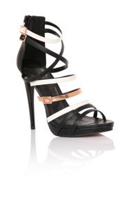 Little Mistress Multi strap platforms