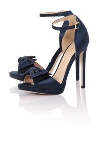 Little Mistress Stone bow heels