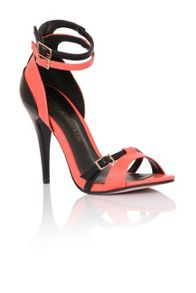 Little Mistress Contrast shine heels