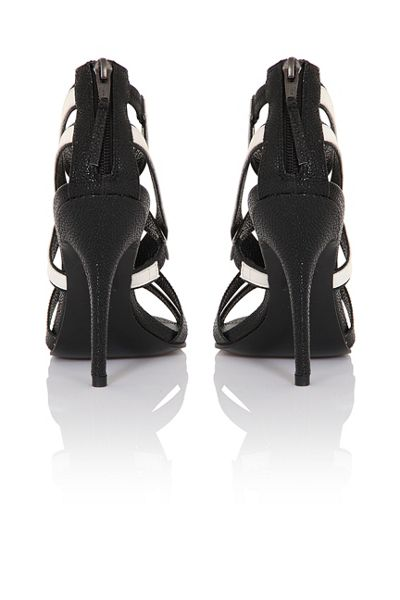 Paper Dolls Cross strap heels
