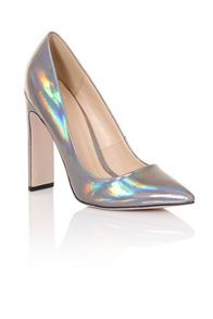 Paper Dolls Metallic court shoes