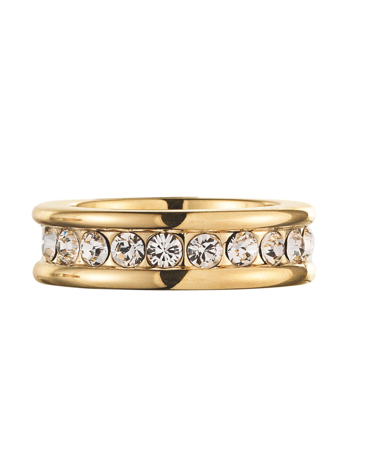 KALLAHARI Gold Crystal Ring