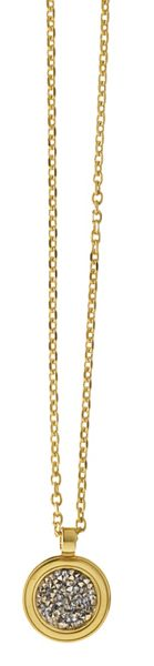 Dyrberg Kern Margo Shiny Gold Grey Necklace