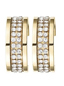 KIMMIE Gold Crystal Earrings