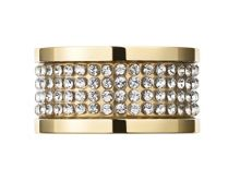 Dyrberg Kern EMILY Gold Crystal Ring