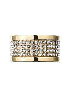EMILY Gold Crystal Ring