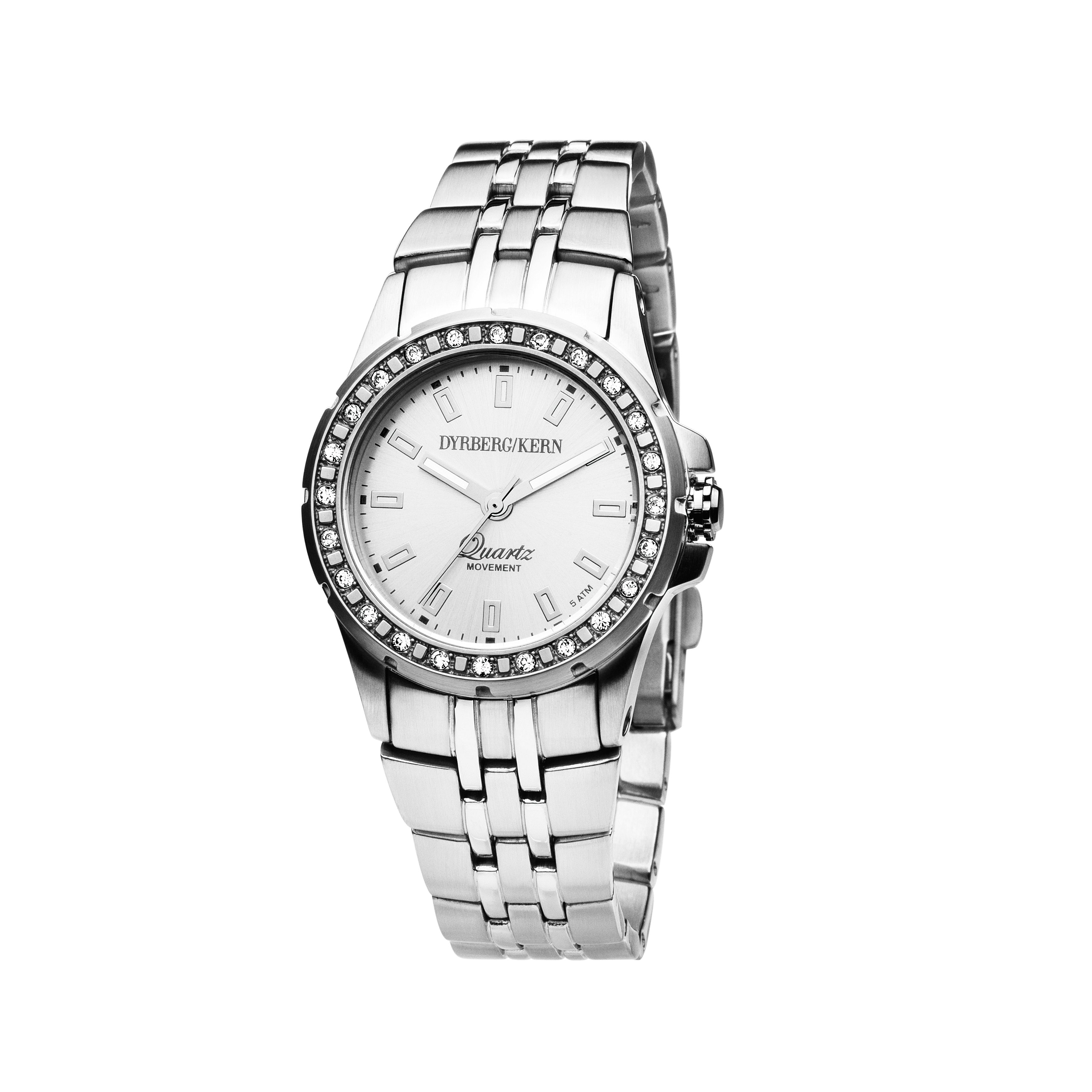 Colette Silver and White Ladies Watch