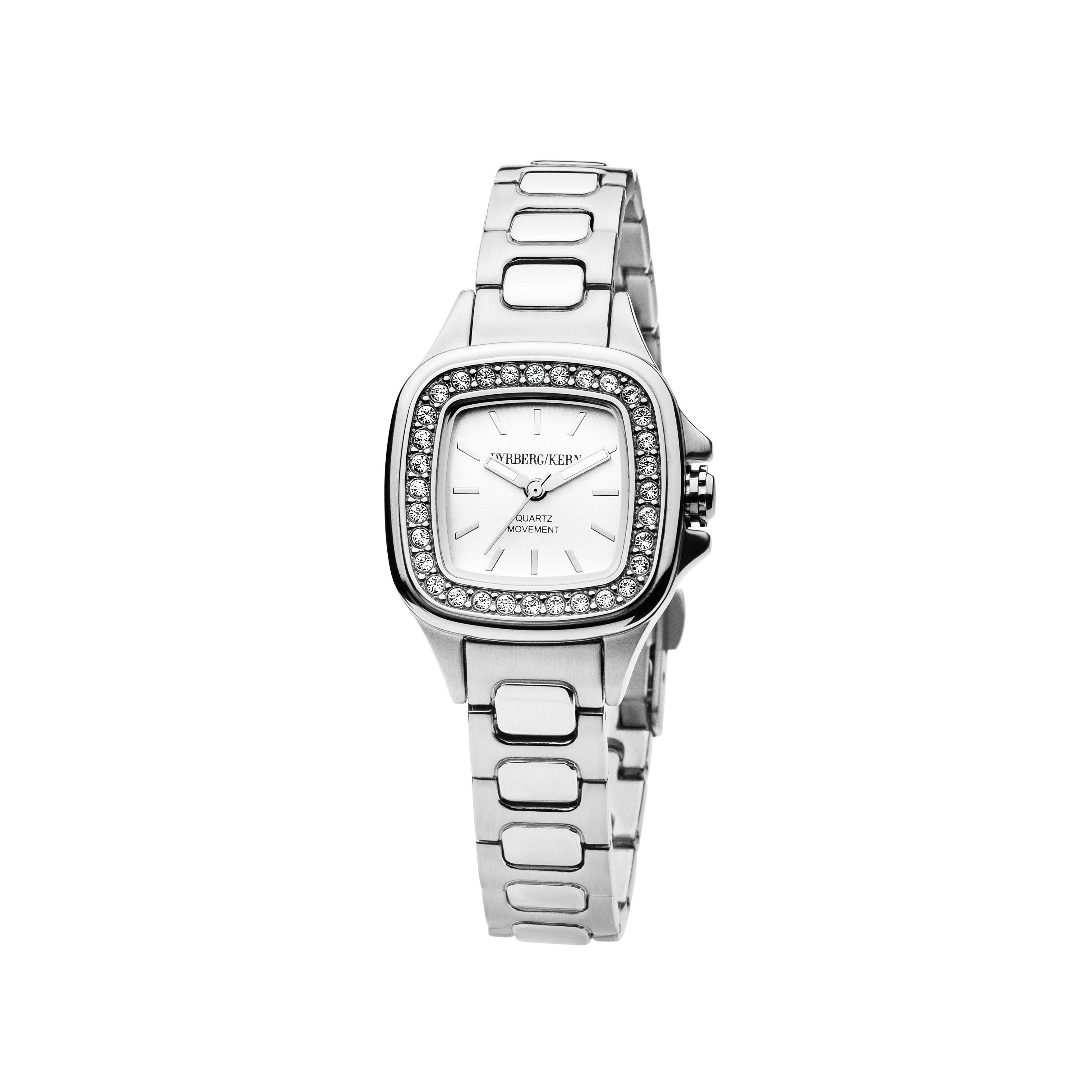 Liberty Silver and White Ladies Watch
