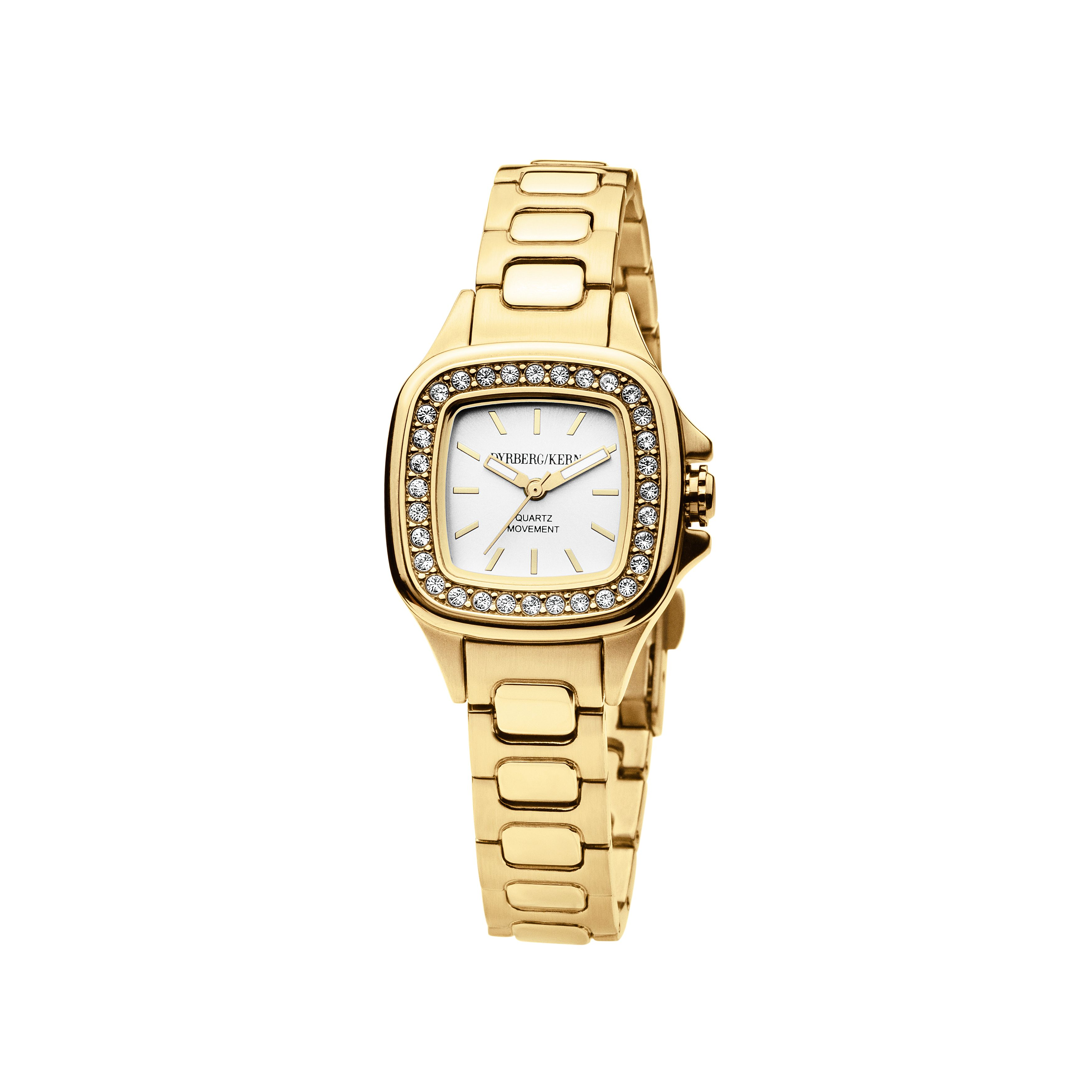 Liberty Gold and White Ladies Watch