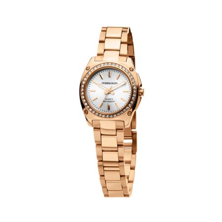 Dyrberg Kern Santinia Rose Gold and White Ladies Watch