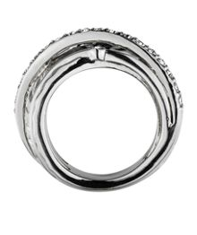 Dyrberg Kern Wendolyn Shiny Silver Crysta Ring