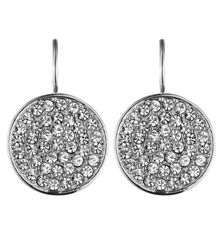 Desria Shiny Silver Earrings