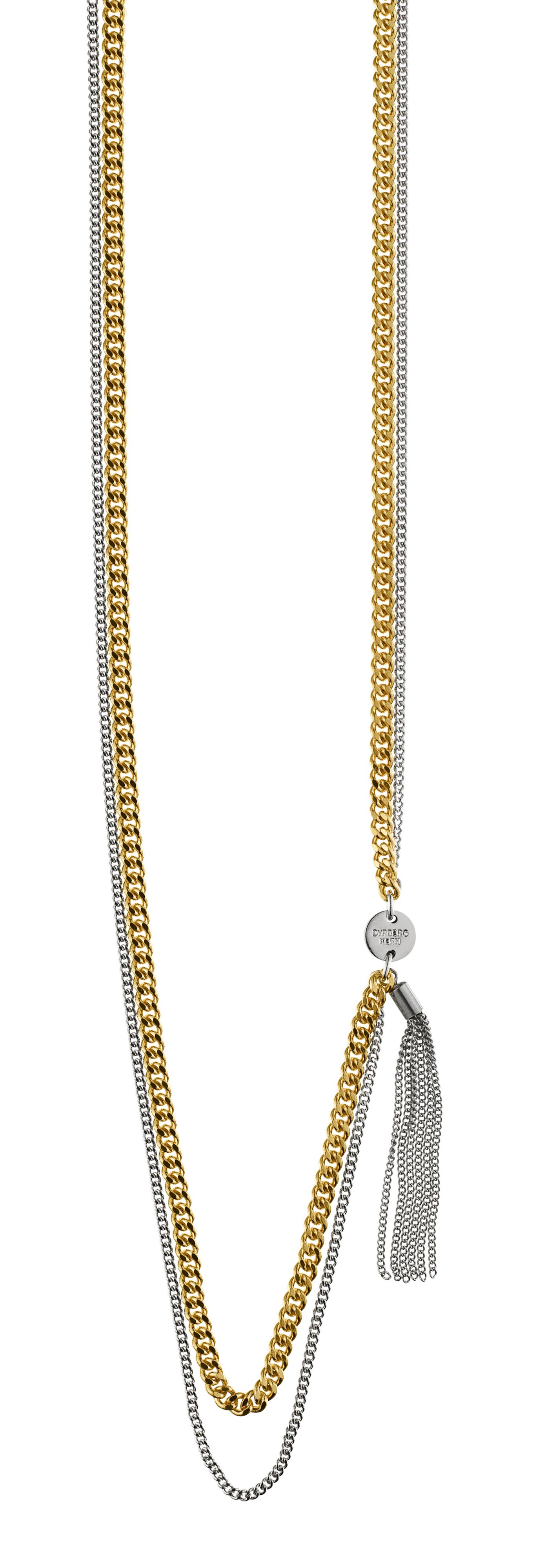 Chainelle Shiny Gold Necklace
