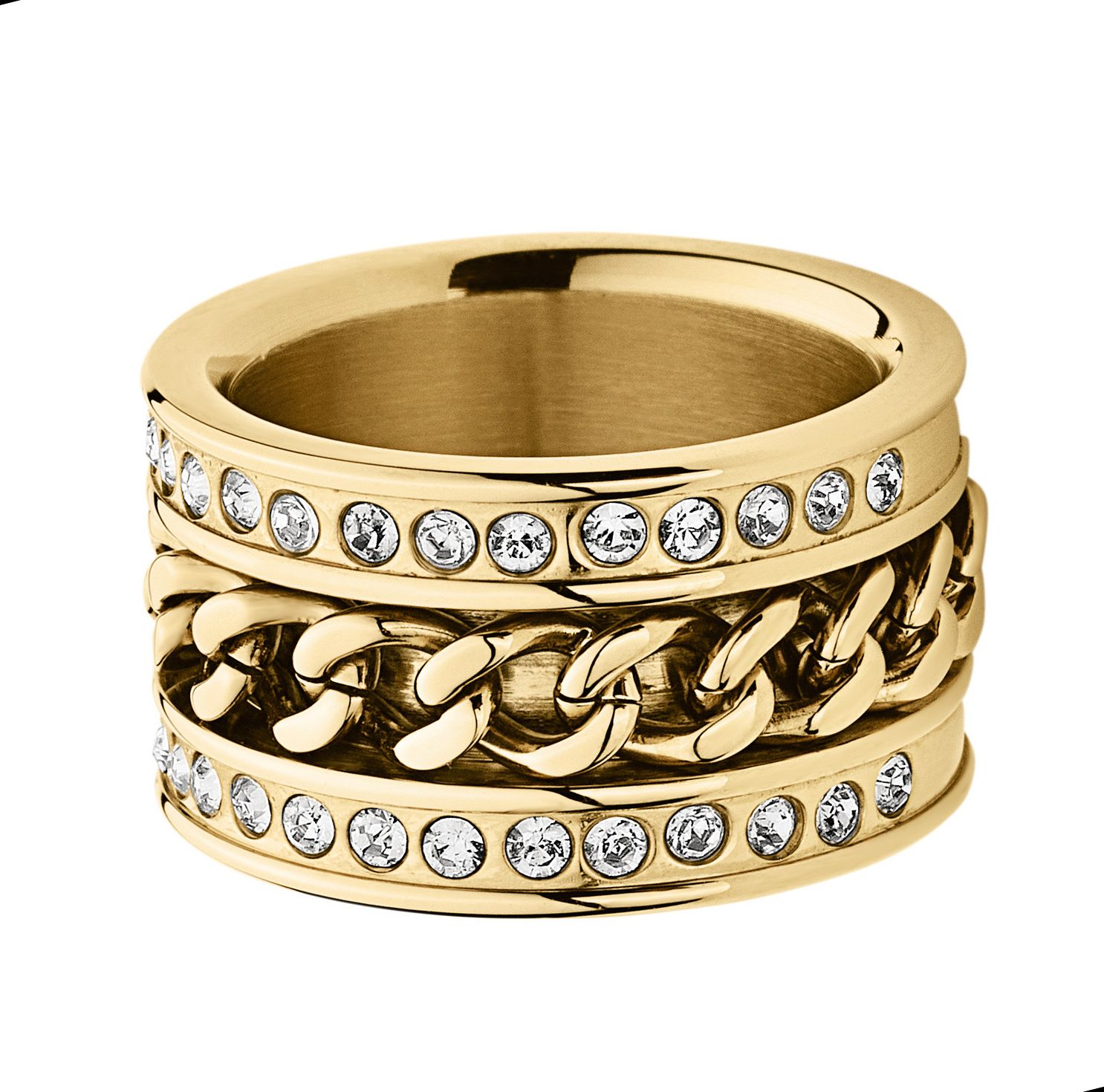 Nerissa Shiny Gold Ring
