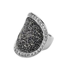 Dyrberg Kern Carly shiny silver grey ring