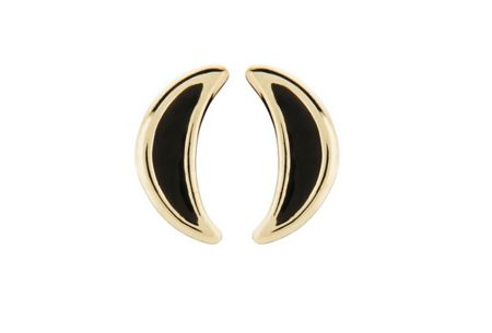 Dyrberg Kern Uni Half Moon Earpost Earrings