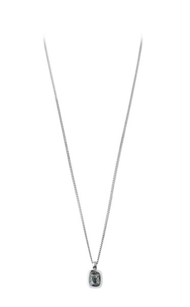 Dyrberg Kern Atan Ss Grey Necklace